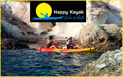 Happy Kayak. Cabo de Gata